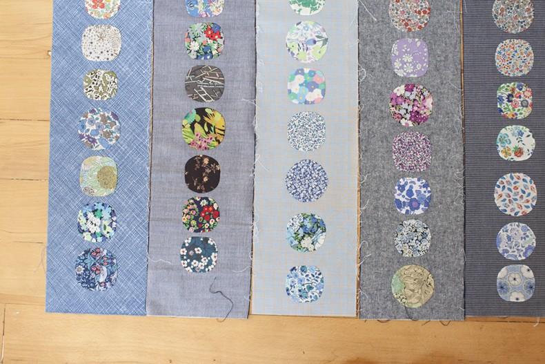 Liberty Aerial Grove quilt . Carolyn Friedlander
