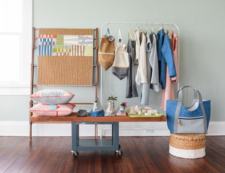 Euclid fabric lookbook projects . Carolyn Friedlander