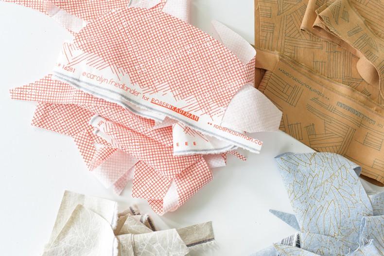 Euclid Fabric Swatches . Carolyn Friedlander