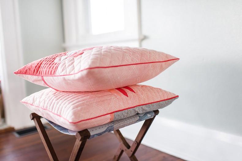 Hesperides Shams . Euclid Fabric . Carolyn Friedlander