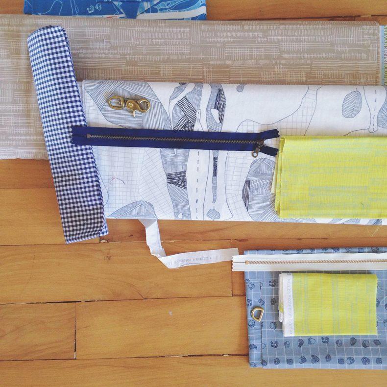 fabric selecting . Carolyn Friedlander
