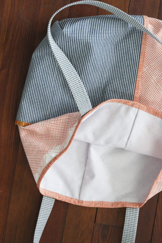 Euclid Wrap Pocket Totes . Carolyn Friedlander