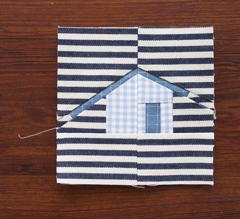 striped outhouse . carolyn friedlander