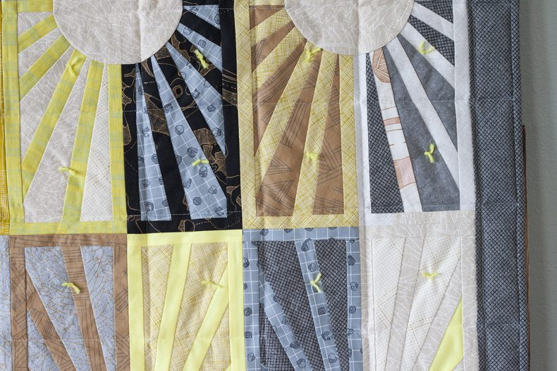 Facing East Quilt in Euclid . Carolyn Friedlander