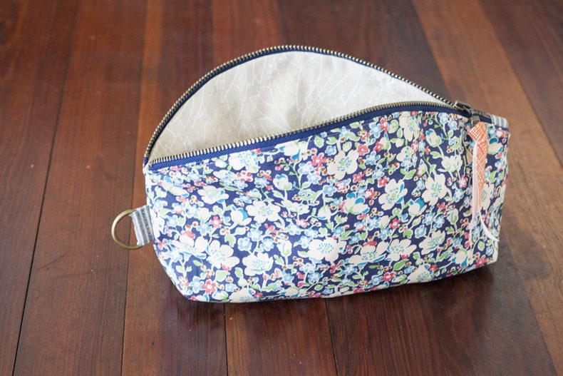 LIberty and Euclid Petal Pouch
