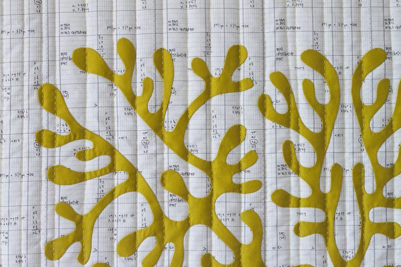Pickle Hawaiian Quilt . Carolyn Friedlander