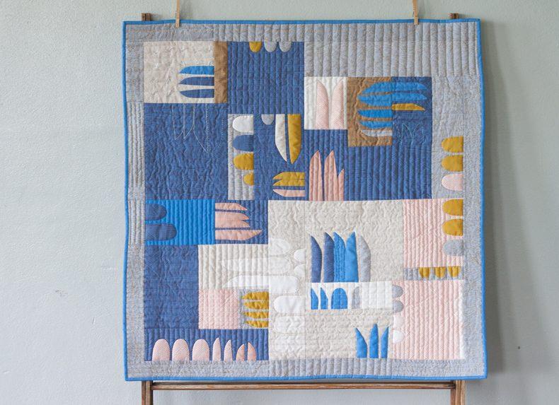 Euclid Hesperides Quilt . Carolyn Friedlander
