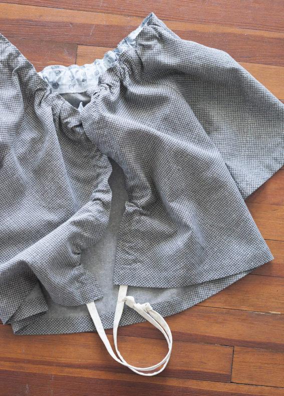 Euclid Ruffle Front Jacket . Carolyn Friedlander