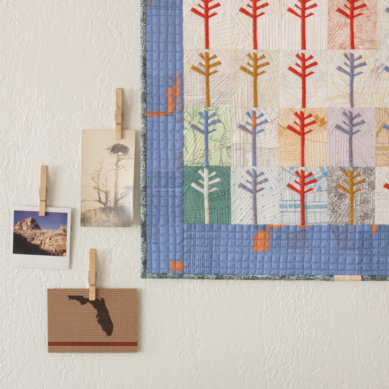 Pine Quilt . Carolyn Friedlander