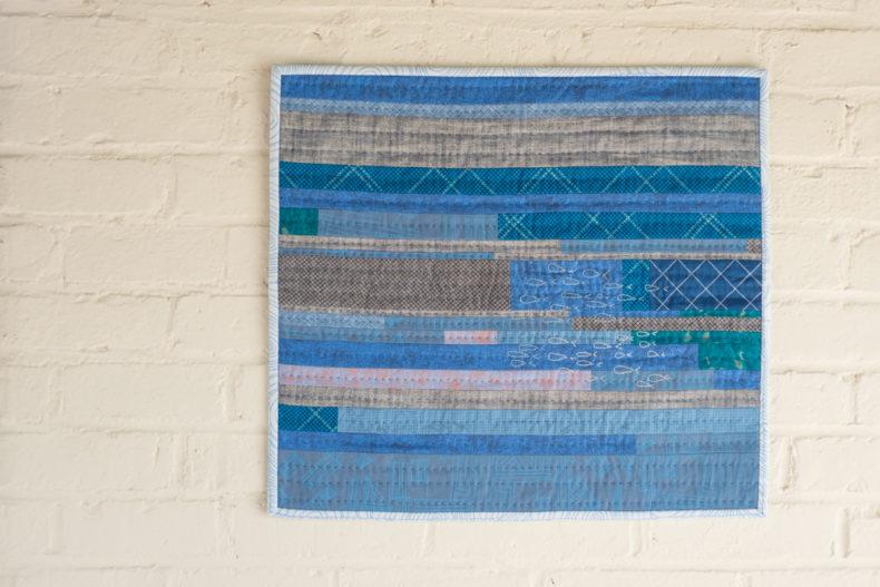 Scales Wall hanging . Carolyn Friedlander