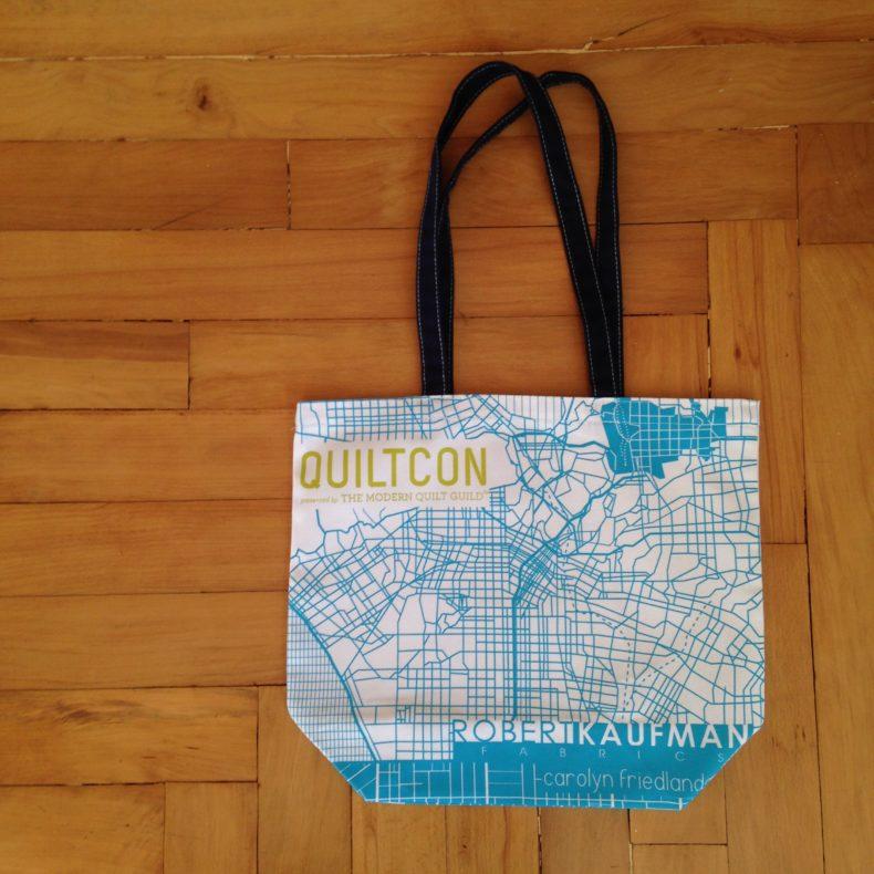 QuiltCon 2016 Tote . Carolyn Friedlander