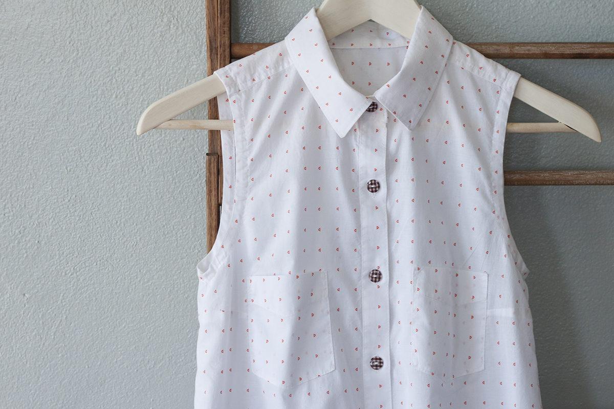 Friedlander Lawn Alder Shirtdress . Carolyn Friedlander