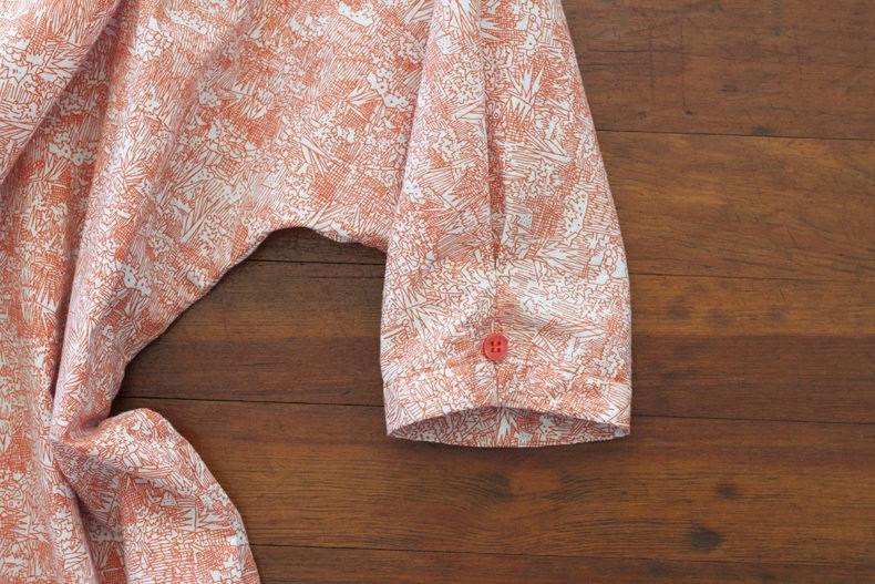 Friedlander Lawn Check and Stripe Dress . Carolyn Friedlander