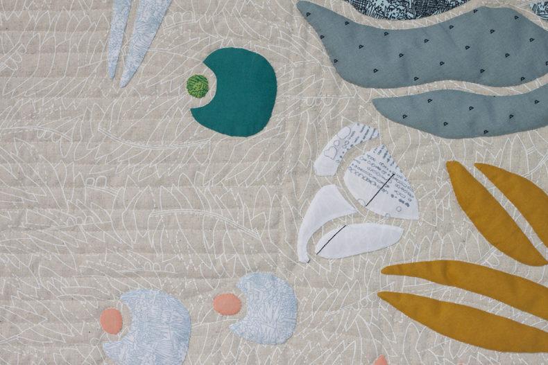 Wildabon Quilt . Carolyn Friedlander