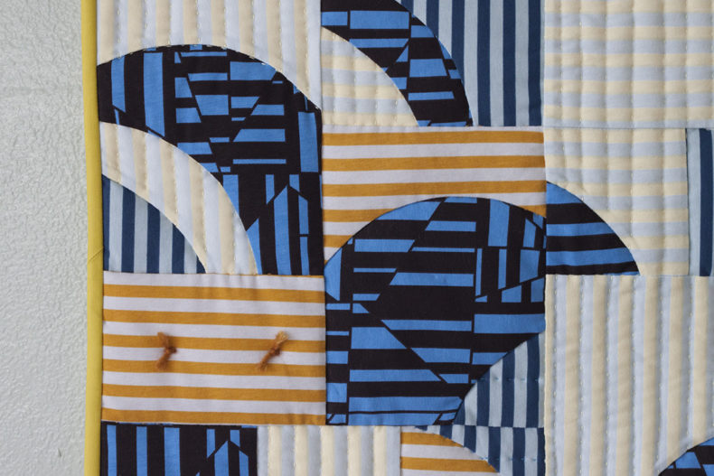 Tee Quilt in Blake Knit . Version C . Carolyn Friedlander