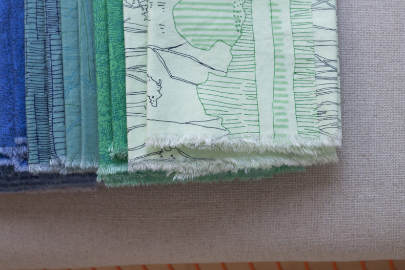 Friedlander Fabric Napkins . Carolyn Friedlander