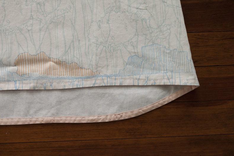 Scout Tee . Friedlander fabric . Carolyn Friedlander