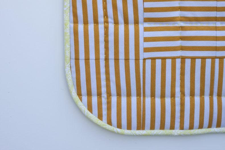 Tee Quilt in Blake Knit . Version A . Carolyn Friedlander