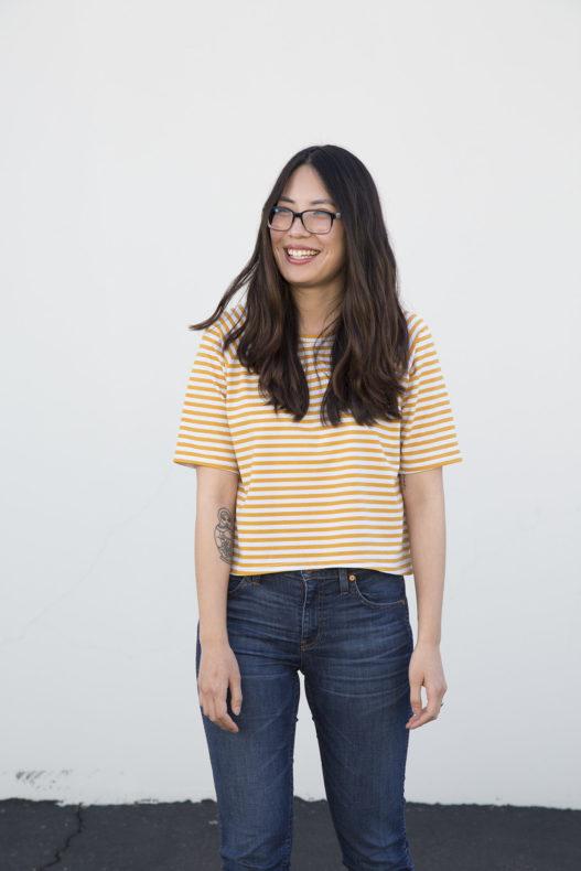Linden shirt in Blake knit