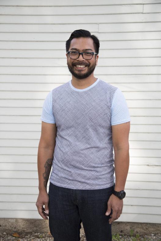 Men's Metro T-Shirt in Blake Knit