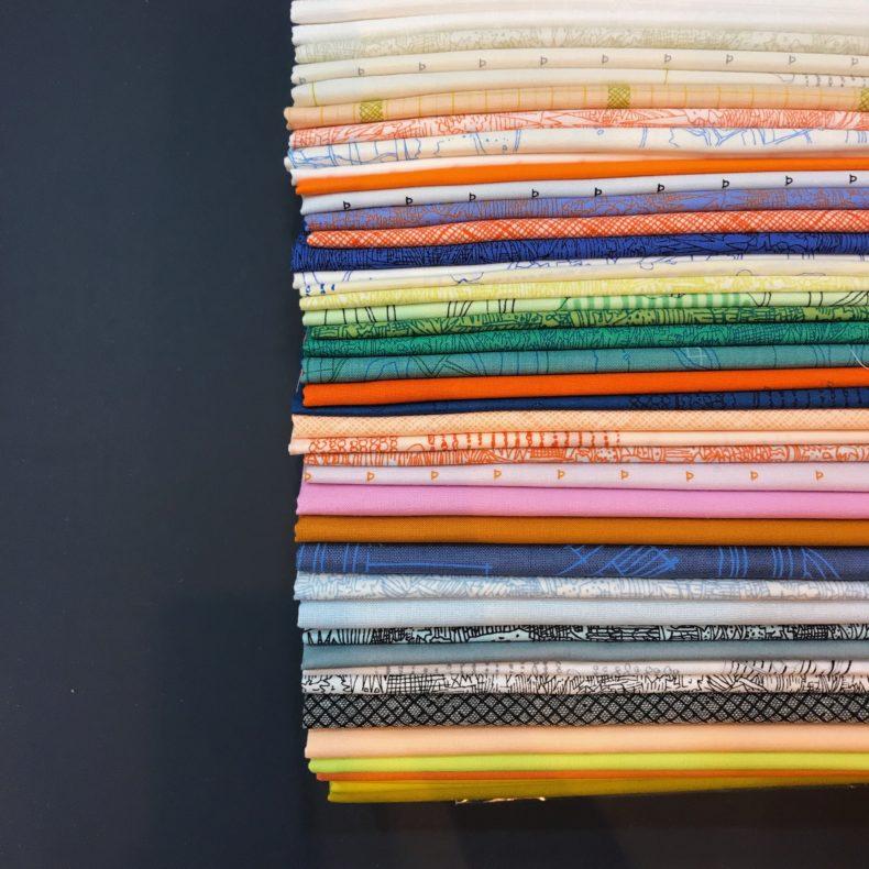 Eads quilt fabric . Carolyn Friedlander