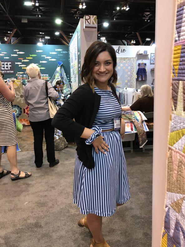 Spring Quilt Market 2017 . Carolyn Friedlander