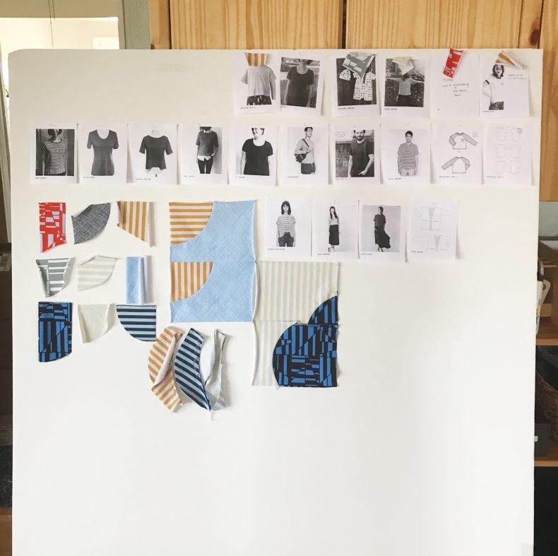 Blake knit design wall . Carolyn Friedlander