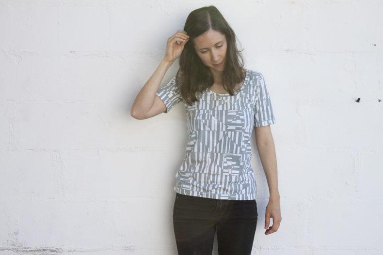 Rio Tee . Blake Knit . Carolyn Friedlander