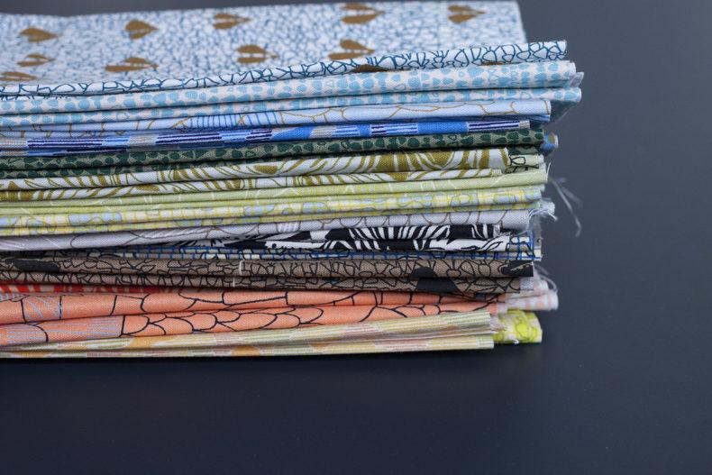 gleaned fabric collection . Carolyn Friedlander