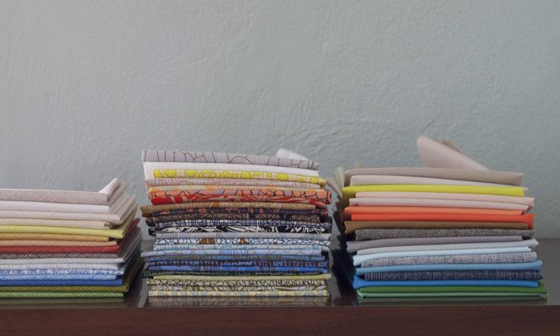 gleaned fabric and coordinates . carolyn friedlander