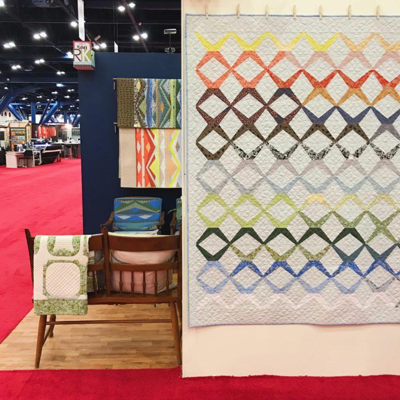 Sessoms Quilt . Quilt Market 2017 . Carolyn Friedlander