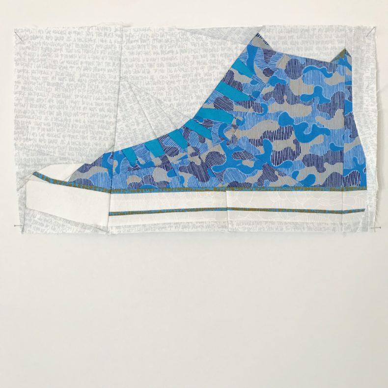 gleaned sneaker . carolyn friedlander