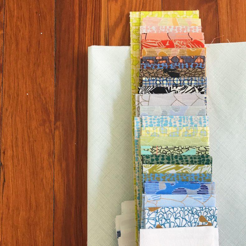 Sessoms Quilt . Gleaned Fabric . Carolyn Friedlander