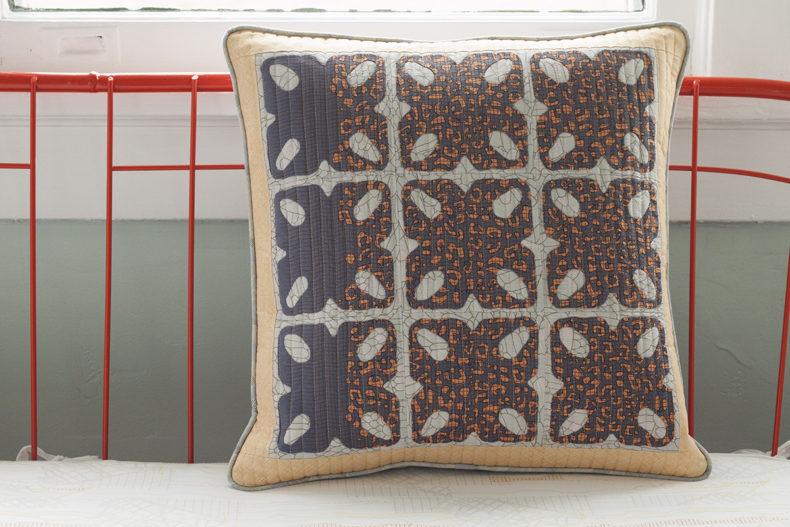 Alturas Pillow Sham in Gleaned Fabric . Carolyn Friedlander