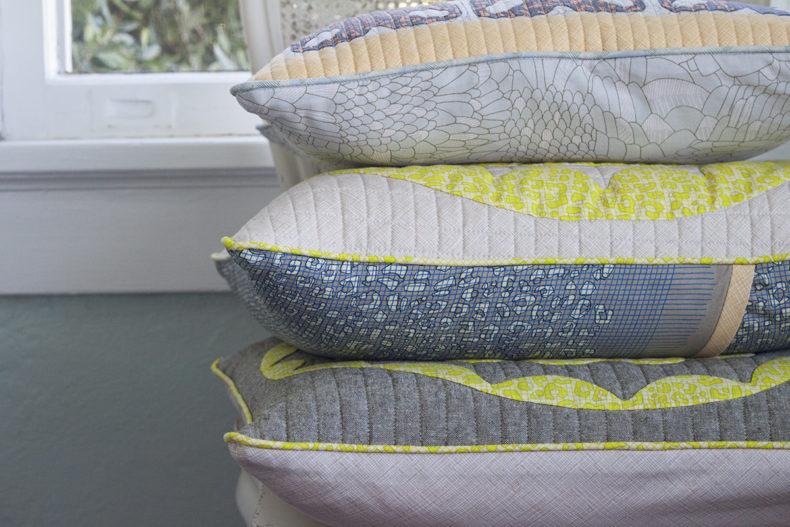 Gleaned Pillow Shams . Carolyn Friedlander
