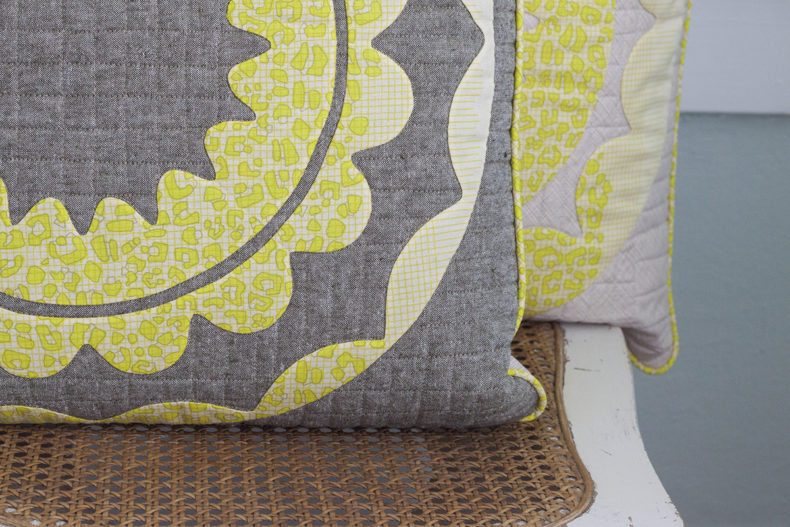 Gleaned Rin Pillow Shams . Carolyn Friedlander