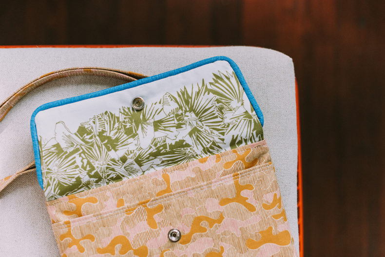 Traverse Bag in Gleaned Fabric
