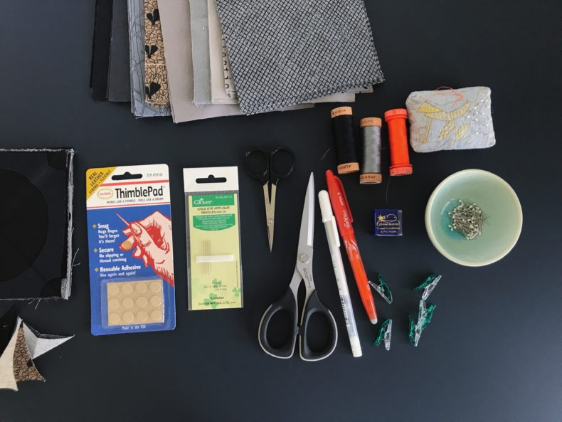 appliqué supplies . carolyn friedlander