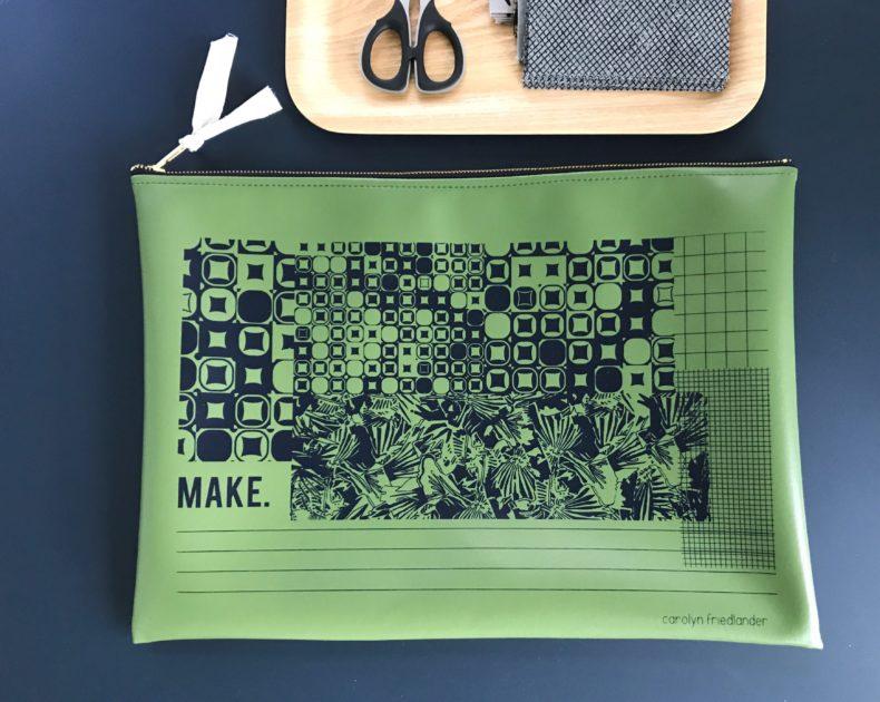carolyn friedlander project bag