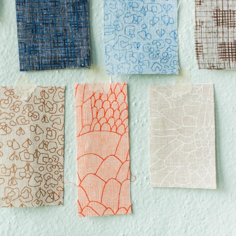 Polk Fabric . Carolyn Friedlander