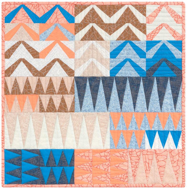 Polk Lust Quilt . Carolyn Friedlander