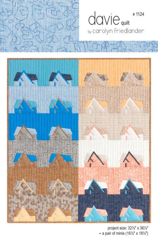 Davie Quilt Pattern . Carolyn Friedlander