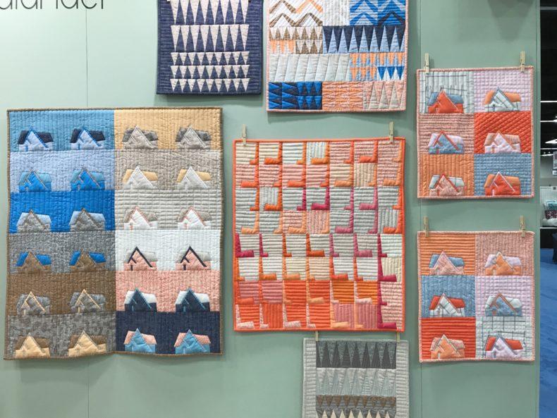Mini Quilts . Carolyn Friedlander