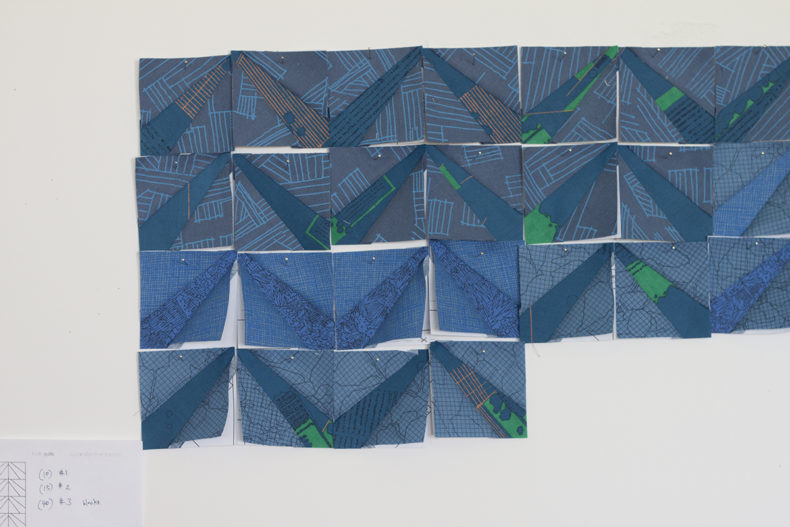 cf Mini Quilt Along #1 . Carolyn Friedlander