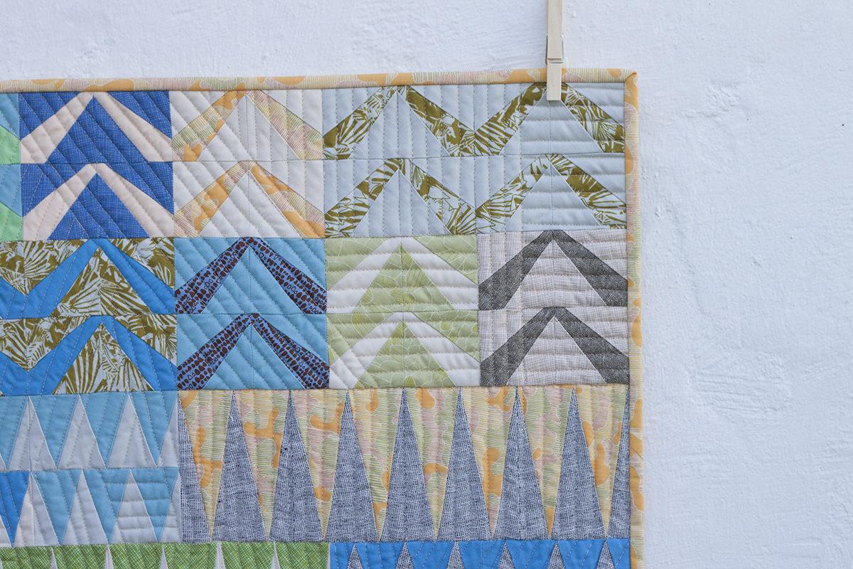Lusk A in Gleaned Fabric . Carolyn Friedlander