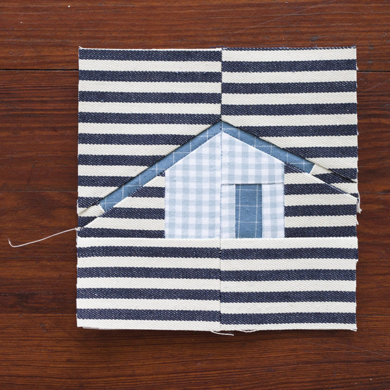Outhouse Quilt . Carolyn Friedlander