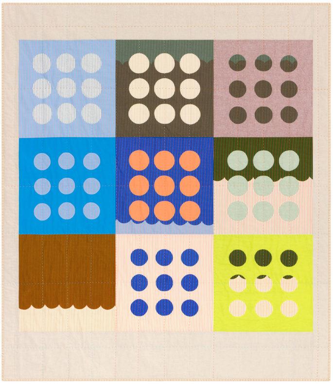 Harriot Circles Quilt . Carolyn Friedlander