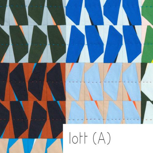1702 Lott A Quilt Pattern . Carolyn Friedlander