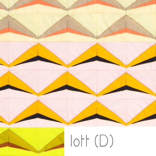 1704 Lott D Quilt Pattern . Carolyn Friedlander