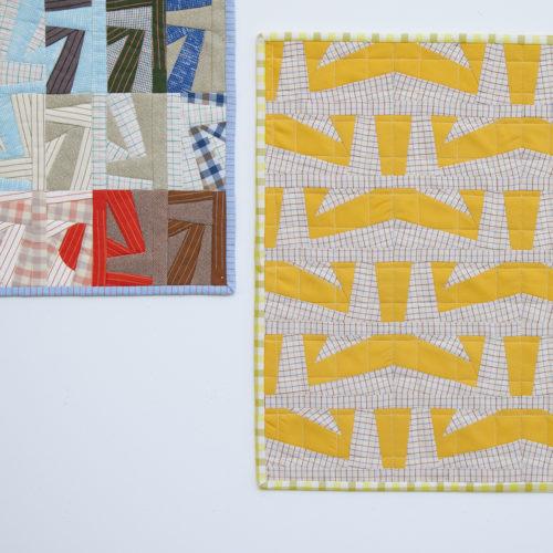 Eads Mini Quilt Pattern . Carolyn Friedlander